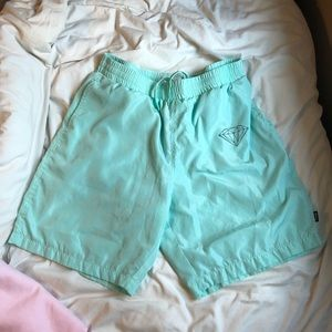 Diamond supply co windbreaker shorts